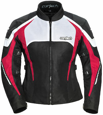 Cortech Women's GX-Sport Air 5.0 Jacket [Black/Pink, XLG]