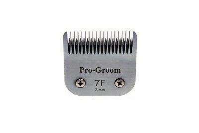 Pro-Groom No.7F Dog clipper blade, fits Andis & Oster clippers + 1 free resharp