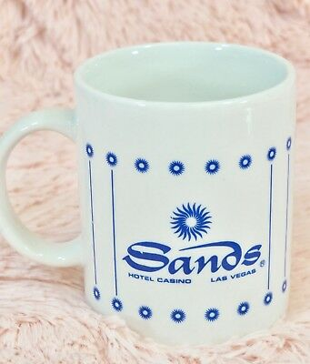 SANDS Hotel Casino Coffee Mug Las Vegas Nevada - Closed 1996