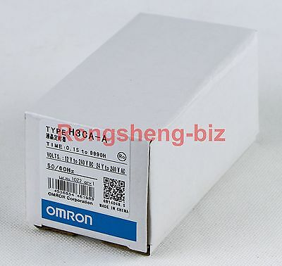 Omron Timer H3CA-A H3CAA 24-240VAC/VDC New in box #RS01