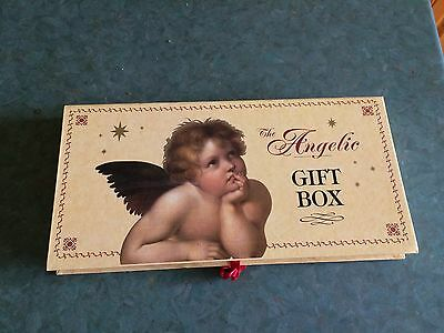 The Angelic Gift Box: Address Book, Note Book and Photograph Album