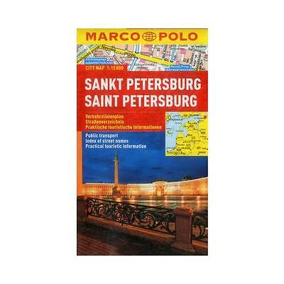St Petersburg Marco Polo Map by Marco Polo Travel Publishing