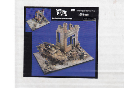 Verlinden 1:35 Street Fighters Diorama Base #1699