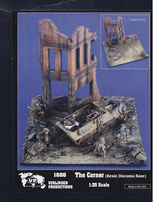 Verlinden 1:35 The Corner Diorama Base #1886