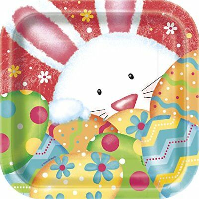"18 cm, motivo: ""Happy Easter Direct-Piatti di carta per feste, confezione (q0A)"