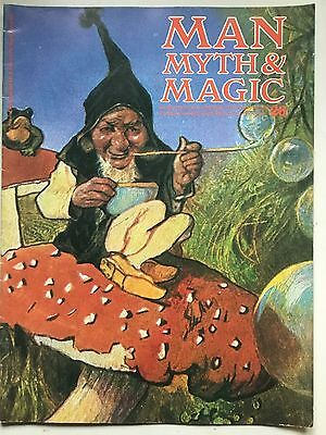 Man, Myth & Magic 1970 No 26 druids druzes dualism ghosts of Drury Lane