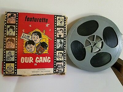 Vintage 8mm ATLAS Movie Our Gang in RODEO MICKEY MC GUIRE