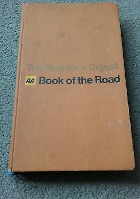 The Reader's Digest AA Book Of The Road (1967) Excellent Condition