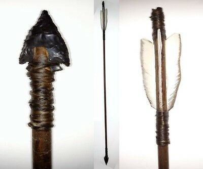 Native American Indian Made APACHE ARROW (w/ Certificate of Authenticity)