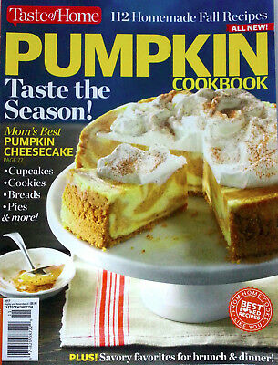 NEW Taste of Home Pumpkin Cookbook 86 Recipes Cheesecake FAST Shipping