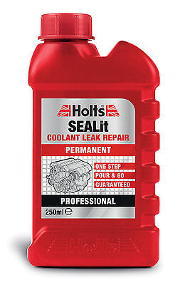 HOLTS SEALiT PERMANENT RADIATOR STOP LEAK. HEADS, BLOCKS, PUMPS, PLUGS, ONE STEP