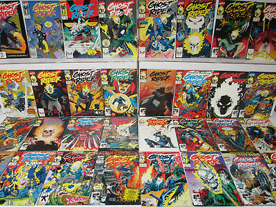 1990 Vol.2 Ghost Rider 1-94 Complete Run Series Plus Extras