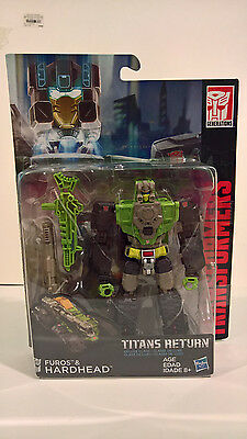 Transformers Titans Return Hardhead with Furos