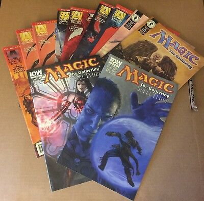 MAGIC THE GATHERING Comic Book Lot, ARMADA, ACCLAIM, IDW, Lot of 11 Issues