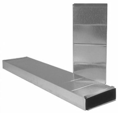 IMPERIAL 3.25-in x 10-in x 36-in Galvanized Steel Rectangular Stack Duct, NEW!