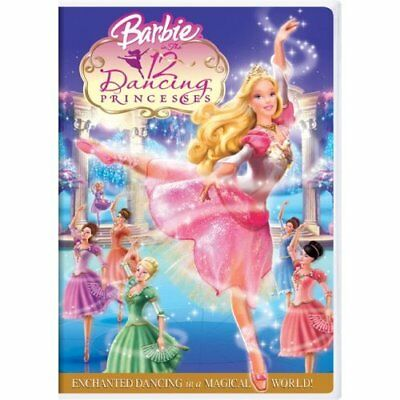 Barbie In The 12 Dancing Princesses On DVD With Kelly Sheridan Children Very