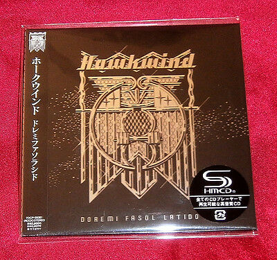 Hawkwind Doremi Fasol Latido JAPAN SHM MINI LP CD TOCP-95061