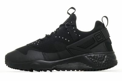 check out ab73d 6c890 Nike Air Huarache Utility, Men s Trainer (Variable Sizes) Black-Brand New In