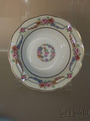 Theodore Haviland Limoges France PICARDY Floral Swag Cereal Bowl