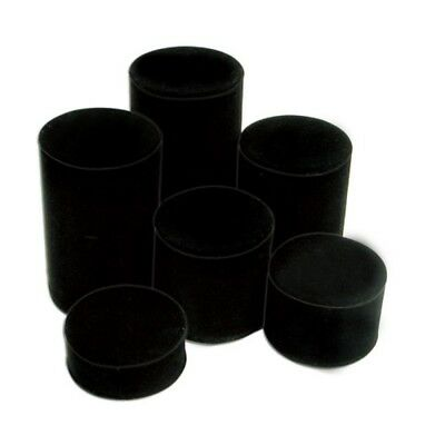 Black Velvet Round Jewerly Collectible Display Risers set of 6