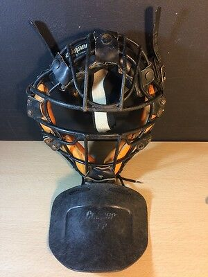 Vintage Cooper Umpire Mask JM3 Taiwan Japan Neck Guard Catcher Irwin