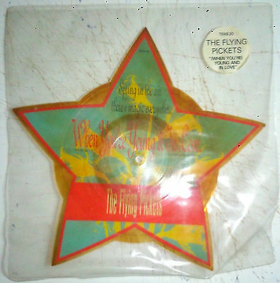 The Flying Pickets-(When You're) Young And In Love (Shaped Pic-Disc) 1984