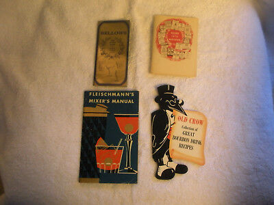 Vintage Bartender Manuals