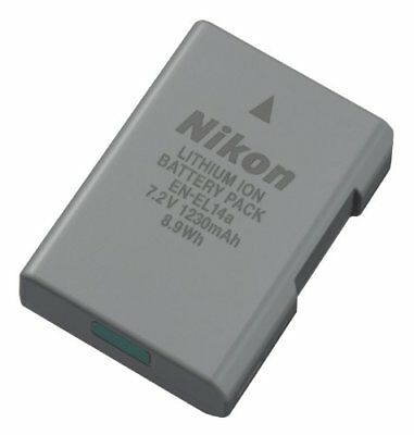 Nikon EN EL-14A Lithium-Ion Battery Pack for Nikon D3300 D3400 D5300 D5500 D5600