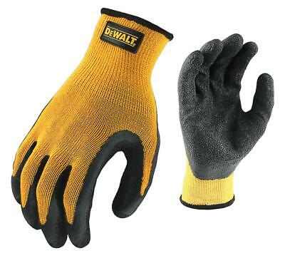DeWalt Textured Rubber Coated Work Gloves Grip Extra Large DPG70 M L XL