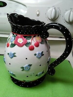 Mary Engelbreit Oh So Breit Pitcher Discontinued Rare Hard 2 Find Mint Condition