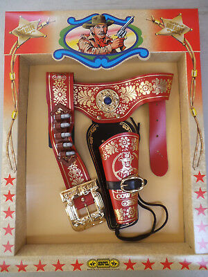 Sheriff - Single Cowboy Kid's Holster Set (For Toy Guns)
