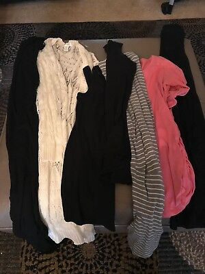 Maternity Clothes Mixed Lot Size M/L one xlarge skirt
