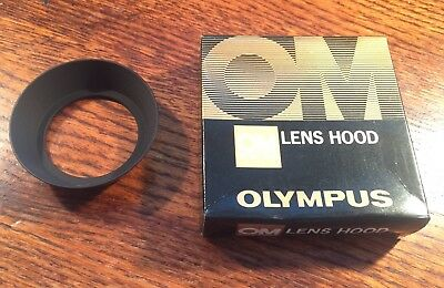 Olympus OM Lens Hood in box 28/3.5 excellent condition