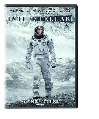 Interstellar dvd new, free shipping