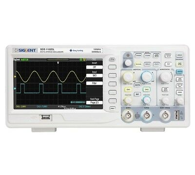 Siglent SDS-1102DL+ 100MHz Oscilloscope - 32K memory - 2 Channels