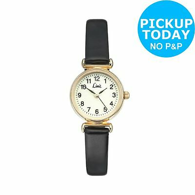 Limit Ladies' Gold Plated Round Glow Dial Watch -From the Argos Shop on ebay