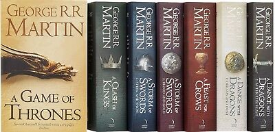 Game of Thrones: The Story Continues Box Set 7 Books (FAST SHIP)