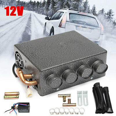 4 Ports Car Truck Under Dash Copper Heater Warmer Window Defroster Demister 12V