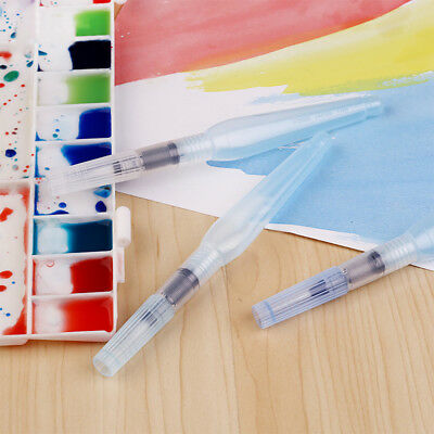 Point Ink Water Brush Pen For Watercolour Painting Chinese Calligraphy X3 CFD7