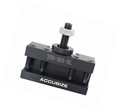 AccusizeTools - Type 201XL BXA Turning and Facing Holder, Quick Change Tool Hold