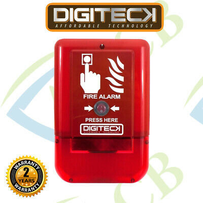 DIGITECK™ Plug&Play Site Alert Battery Operated Interlinkable Fire Alarm System