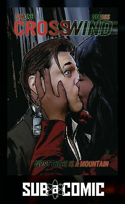 CROSSWIND #4 COVER A STAGGS (IMAGE 2017 1st Print) COMIC