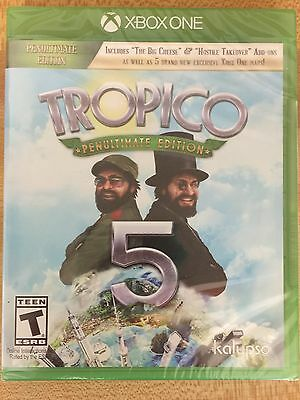 Brand NEW Factory Sealed TROPICO 5 Penultimate Edition Xbox One FREE SHIPPING!