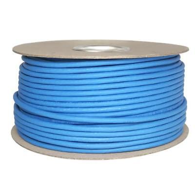 Cat6 Solid LSZH Cable Reel Blue 100% Copper Data Networking Ethernet lot