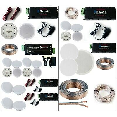 Select A System Bluetooth Ceiling Speaker Kit Wireless
