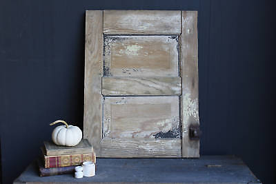 Antique Cupboard Door, Vintage Small Shabby Kitchen Cabinet Door, Chippy Paint