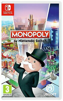 Monopoly Nintendo Switch Game 3+ Years