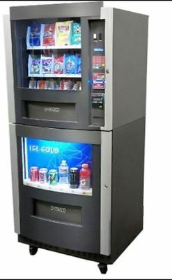 Beverage & Snack Combo Vending Machine Model RS-800/850 with manual