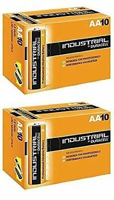 Duracell Alkaline Battery 20 AA Industrial Reliable Replaces Procell Expiry 2021