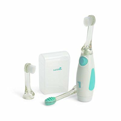 Summer Infant Gentle Vibrations Toothbrush, Teal/White
